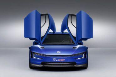 VW XL Sport Concept front open