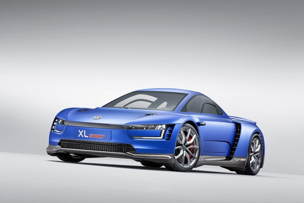 Citaten Sport Xl : Vw shows off the xl sport concept in paris