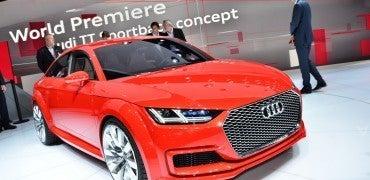 audi ttsportback parisfront 370x180 - Audi is Cooking with Gas at the 2014 Paris Motor Show