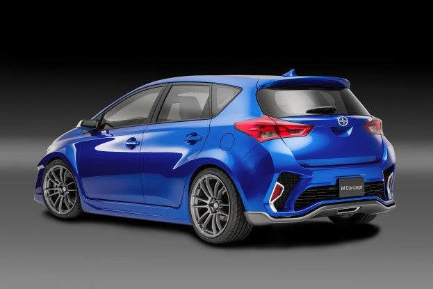2014 LAAS Scion iM Concept Rear