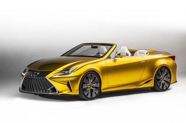 2014 LA Auto Show Lexus LF C2 Concept