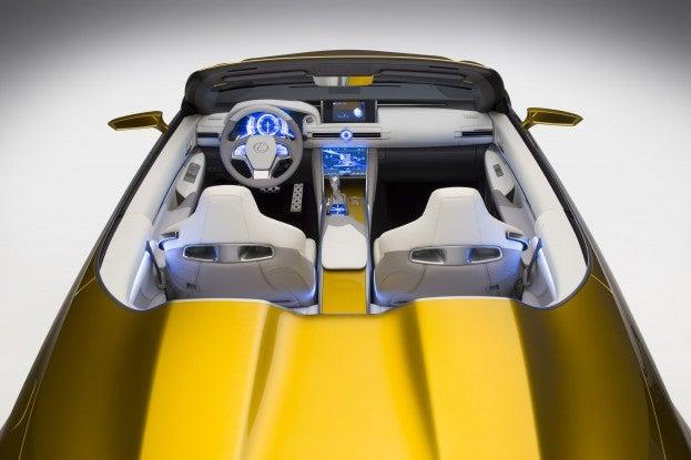 2014 LA Auto Show Lexus LF C2 Concept top