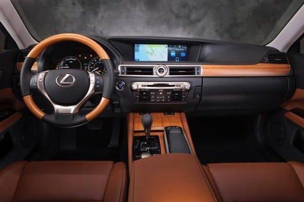 2014 Lexus GS 450h cabin