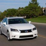 2014 Lexus GS 450h on the road