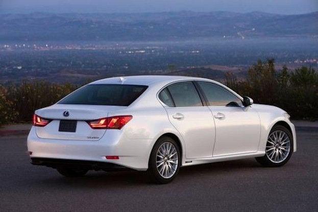 2014 Lexus GS 450h rear