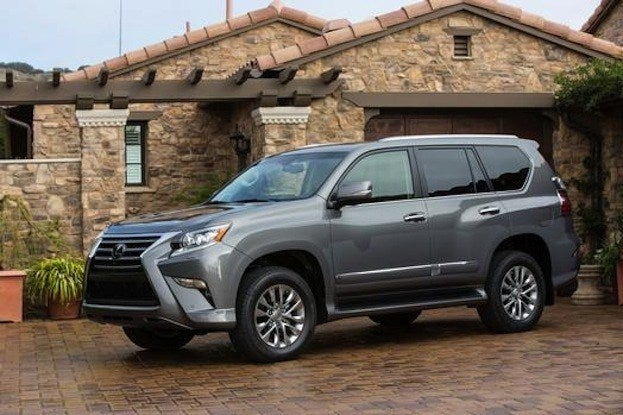 GX460 front