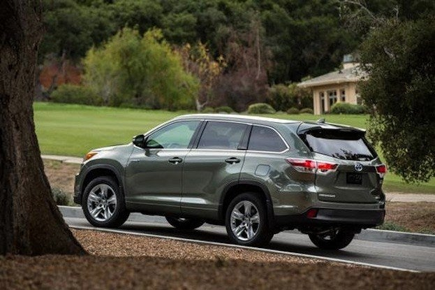 2014 Toyota Highlander hybrid side