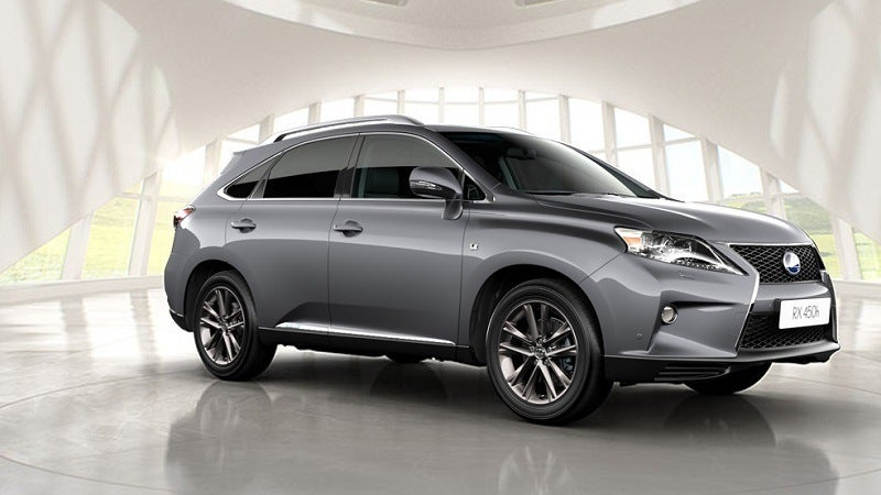 2015 Lexus RX 450h Side view photo on Automoblognet