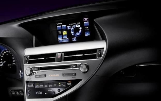 2015 Lexus RX 450h cabin