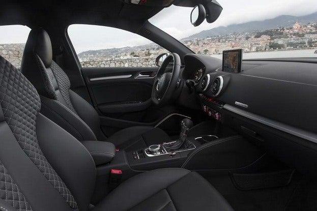 2015 Audi S3 cabin