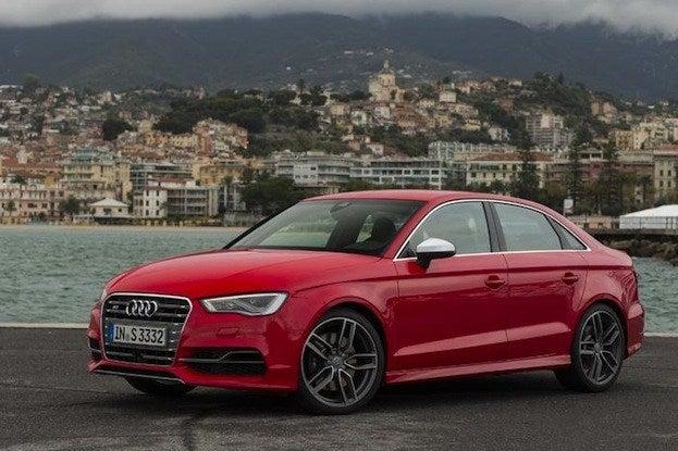 2015 Audi S3 front
