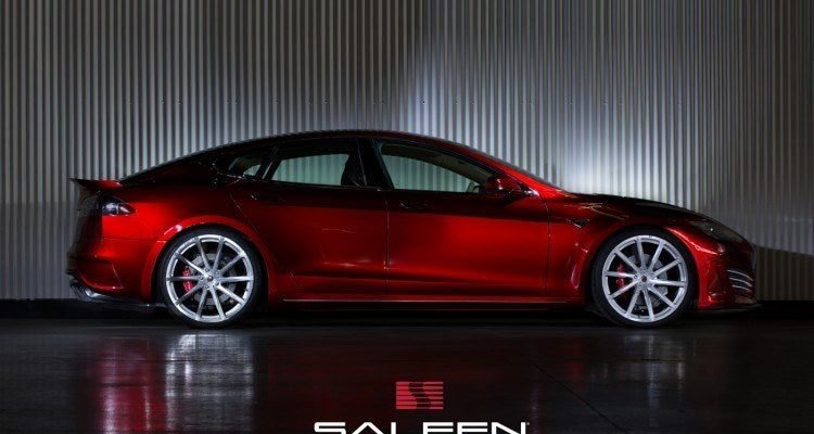 2015 Saleen Tesla ST Model S side