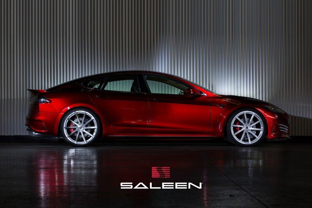 2015 Saleen Tesla ST Model S side