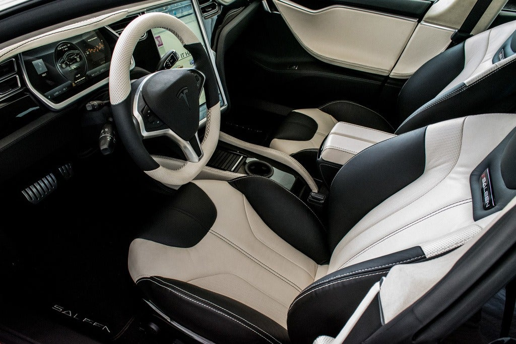 2015 Saleen Tesla ST Model S interior