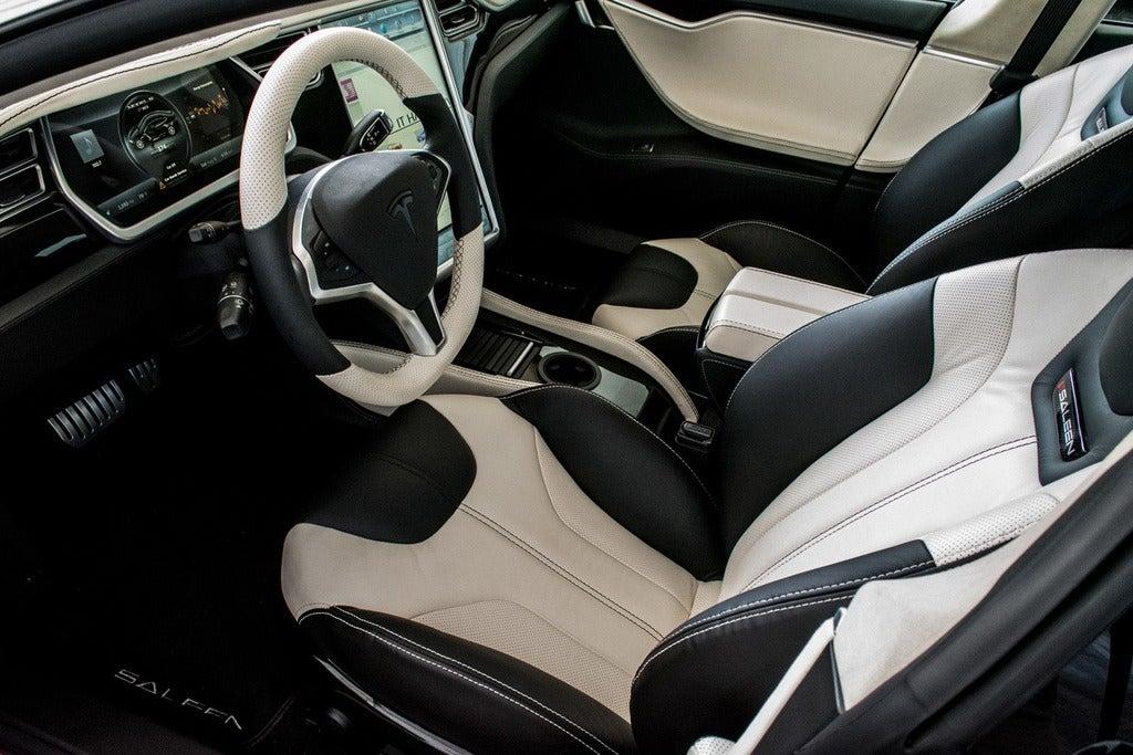 2015 Saleen Tesla ST Model S interior