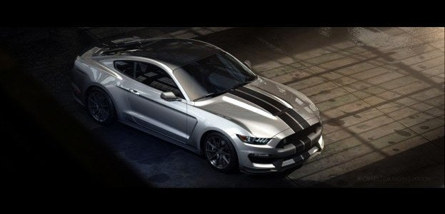 Ford Unveils the Next Snake: the Shelby GT350 Mustang