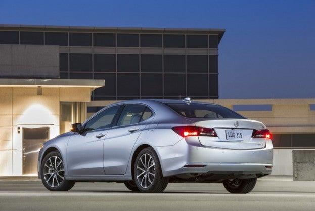 2015 Acura TLX Rear