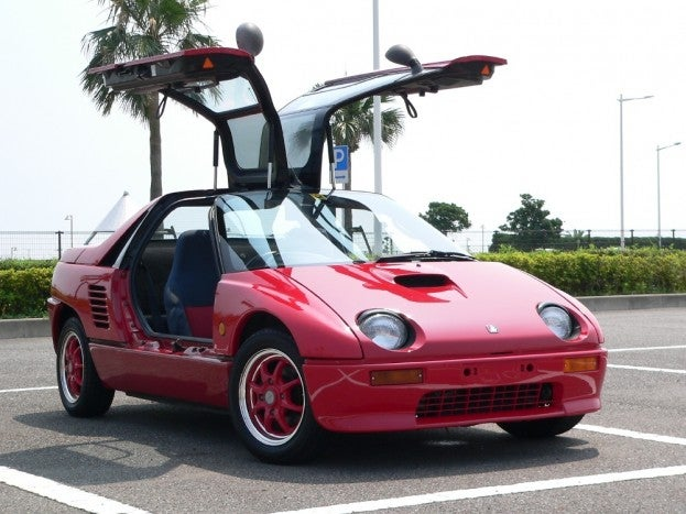 Mazda Autozam is one of our Crazy Cars