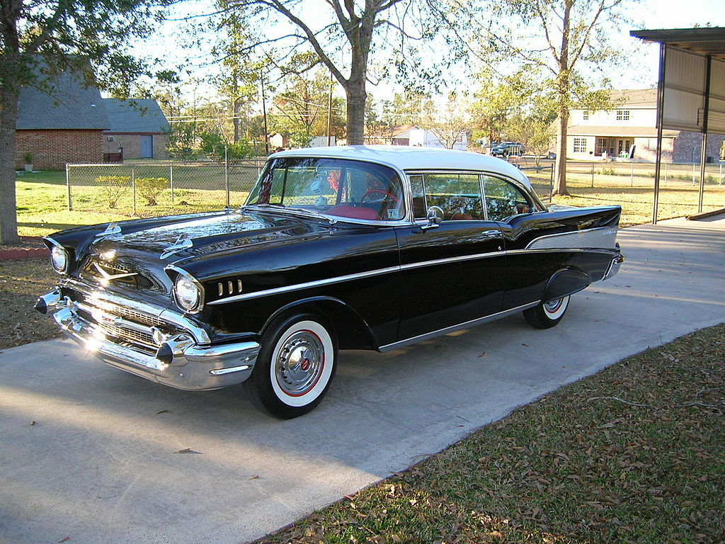 1957 chevy belair 2 door hardtop photo on