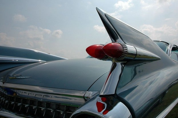 Cadillac tail fins