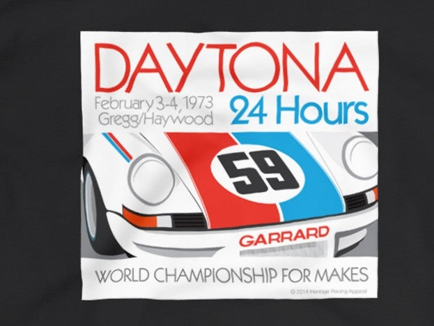 1973 Daytona 24 Hours shirt