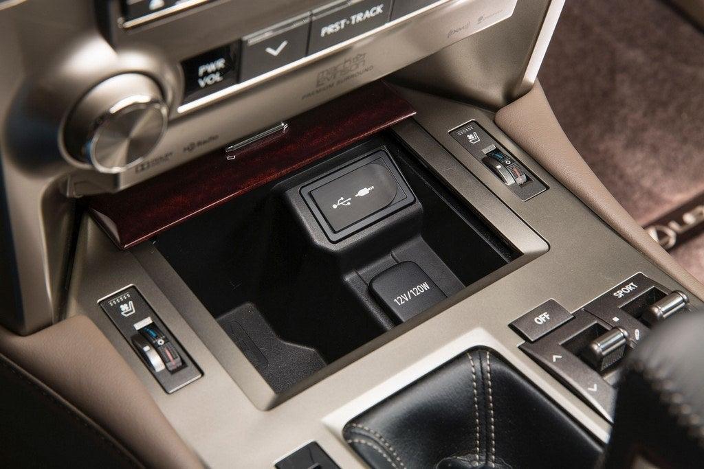 2014 Lexus GX 460 center storage