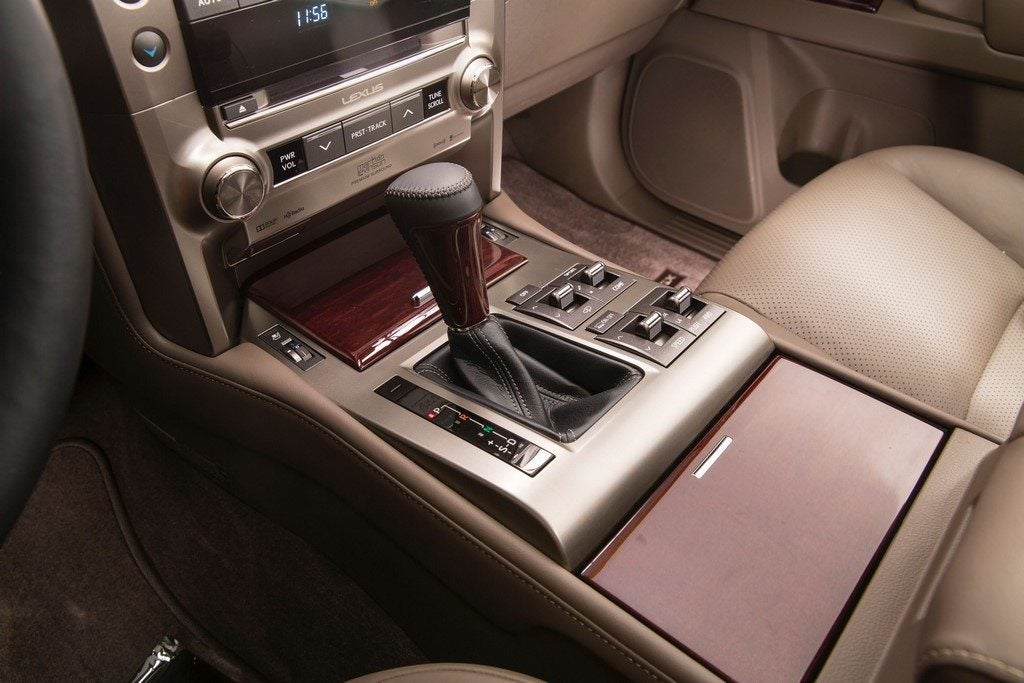 2014 Lexus GX 460 center