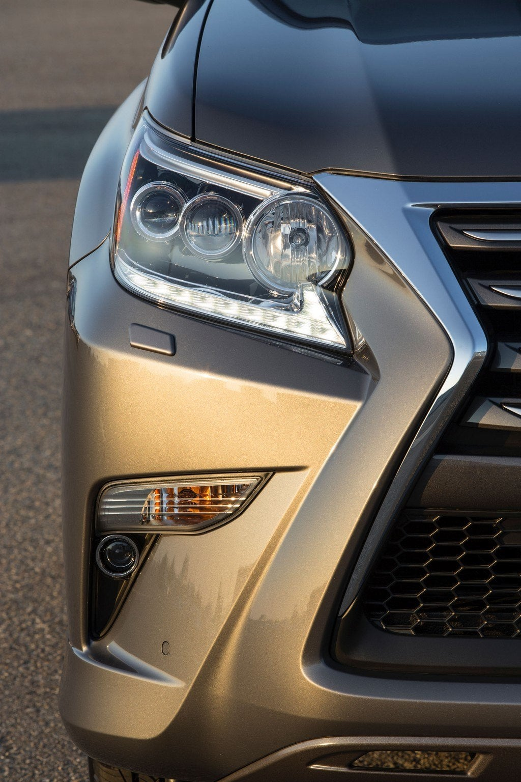 2014 Lexus GX 460 head light