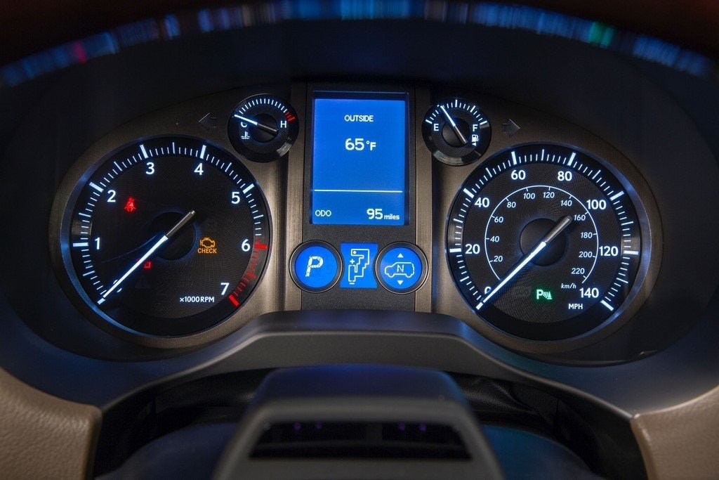 2014 Lexus GX 460 instrument panel