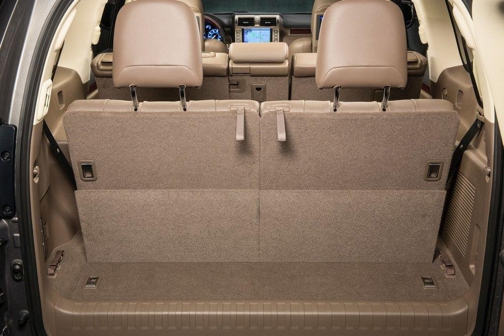 2014 Lexus GX 460 rear storage