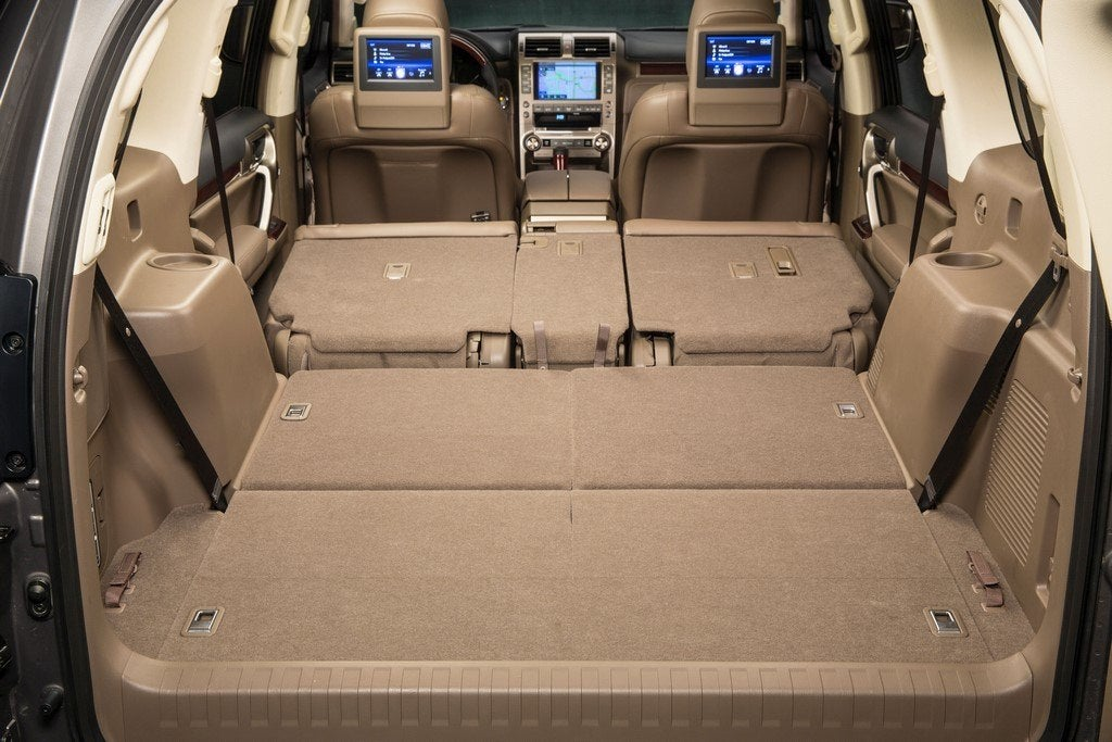 2014 Lexus GX 460 total rear storage