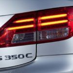 2014 Lexus IS 350C tail light