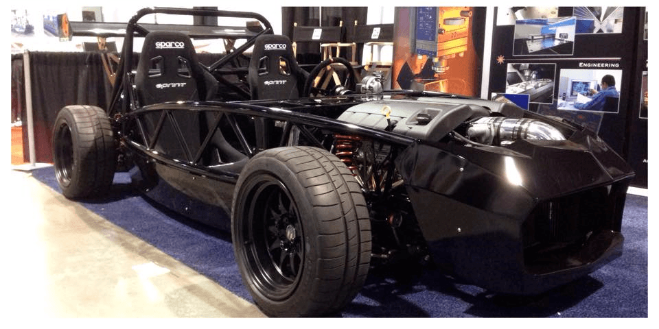 Exocet with LS3 at show