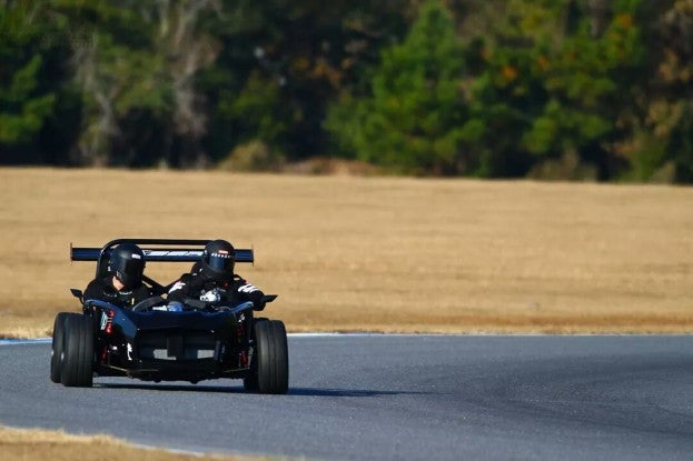 Exoframe Roadster Exocet with LS3 on Race Track