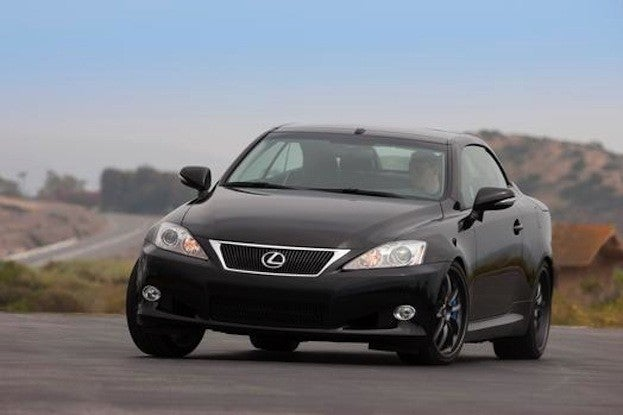 Lexus IS 350C drive