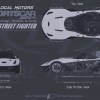 Local Motors SF-01 spec sheet