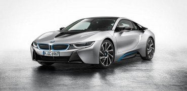 i8 Quarter 370x180 - Three New BMWs: The Pig, the Leopard, and the Shark
