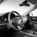 2015 toyota camry xse interior from driver side
