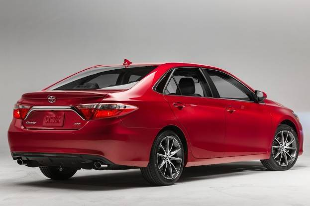 2017 Toyota Camry Xse Right Rear