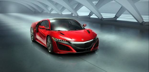 2016 Acura NSX: Not Just for Iron Man Anymore.
