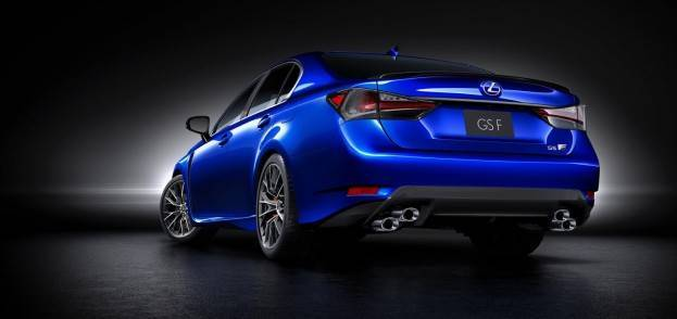 2016 Lexus GS F rear