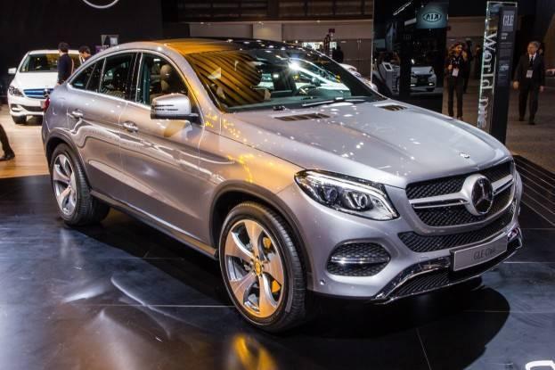 2016 Mercedes GLE Detroit Auto Show