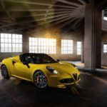 Alfa Romeo 4C drops its top with the 4C Spider