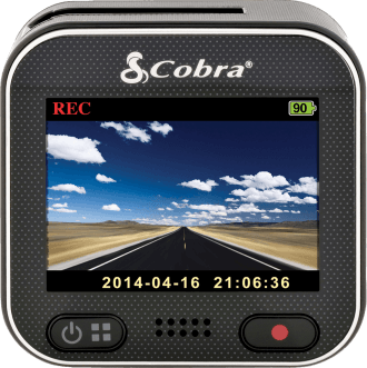 Cobra CDR 900 HD Dash Cam Front