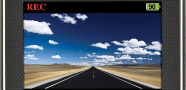 CDR900 LCD F 370x180 - Cobra CDR 900 HD Dash Camera Review
