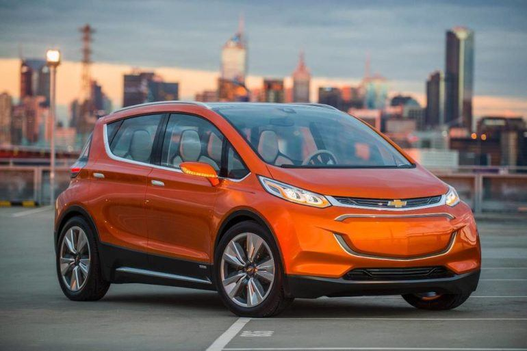 Chevy bolt city frotside