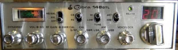 Cobra 148 GTL 5 pin