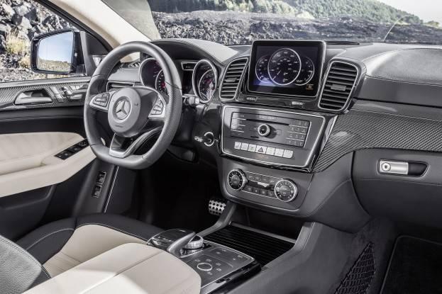 Nội thất Mercedes-Benz GLE Coupé