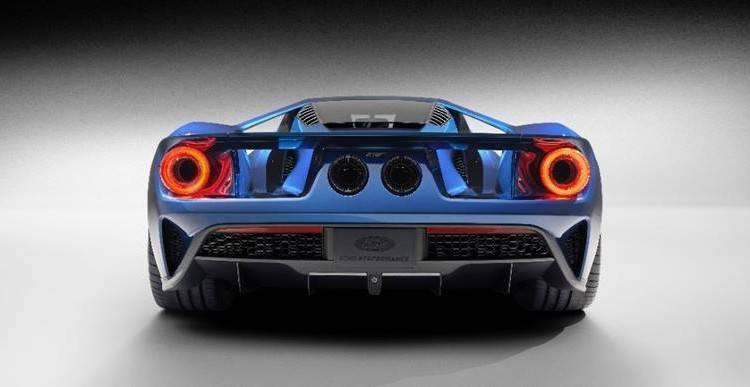 Ford GT Tail