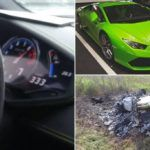 Lamborghini Huracán Crash at 200MPH, Well That Didn't Take Long